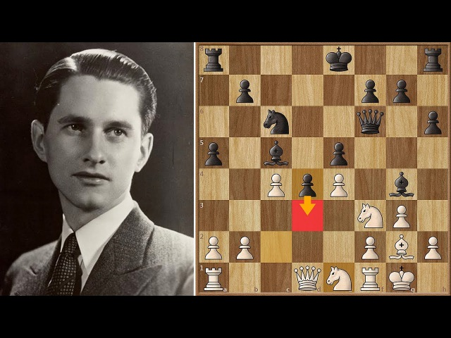 Keres Respects Petrosian too much in Round 1 of the Zürich 1953 Candidates