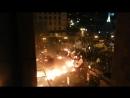 ЄвроМайдан 2014 ось так палали БТРи