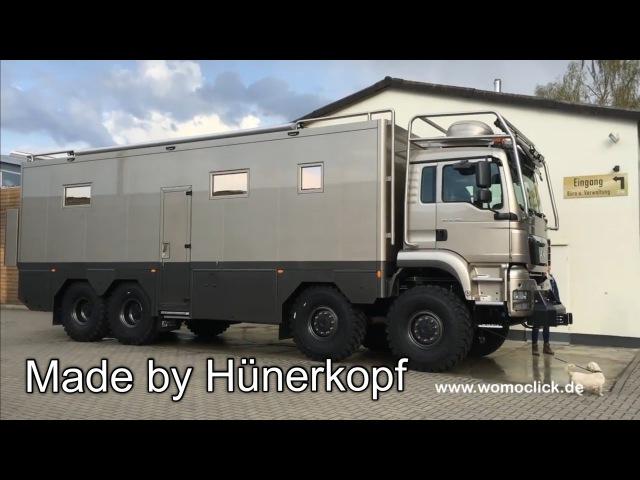 MAN 8 x 8 mit Hünerkopf-Aufbau / womoclick.de