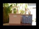 Reciclagem: BOLSINHA feita com CAIXA de LEITE