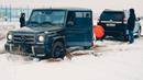 Mercedes G63 AMG против Toyota Prado 150 , Audi Q7 , Audi Q8 , VW Touareg.