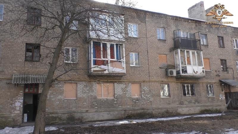 Донецк снова под огнём