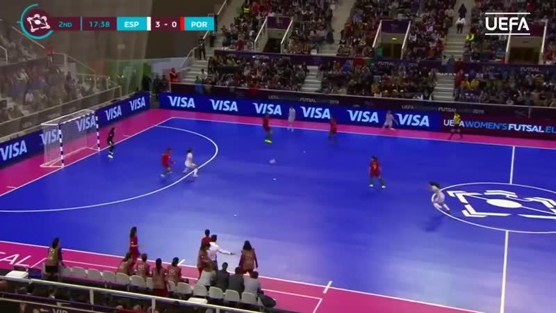 Женский ЕВРО-2019. ФИНАЛ. Испания - Португалия. 40. Обзор.