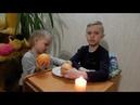 Опыты с огнем. Пламенный апельсин. Опыты для детей