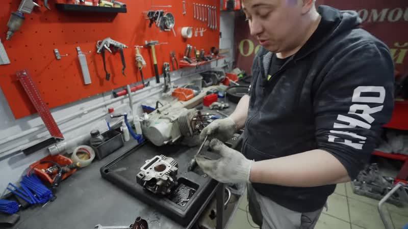 Евгений Цапков MotoStream Как взбодрить двигатель старого мотоцикла ЗАЛЕЙТЕ ЭТО