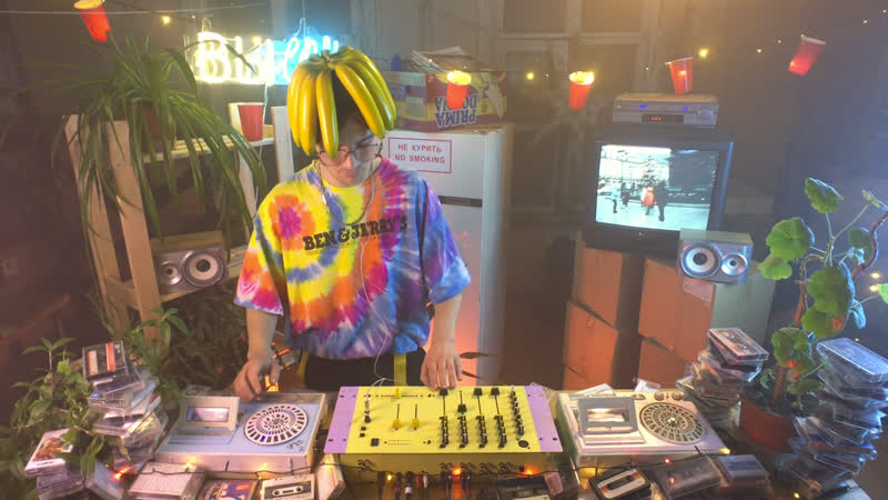 DJ Larvis Кассетный микстейп Speed Garage 90 х
