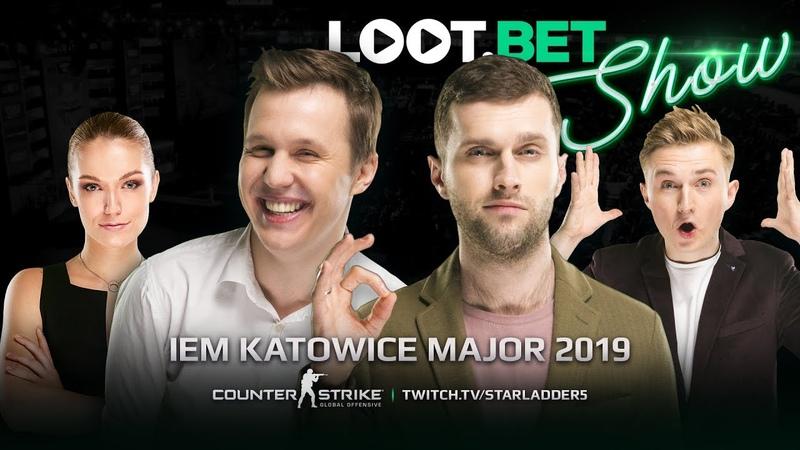 Им просто повезло! | IEM Katowice Major 2019 | LOOT.BET SHOW CSGO