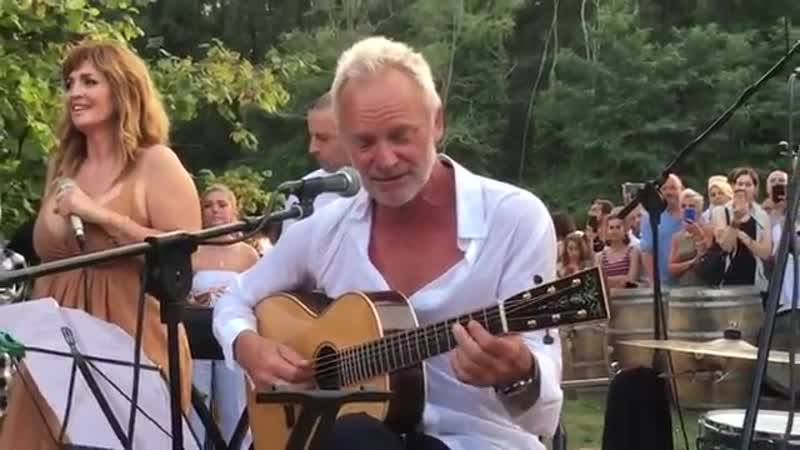 Sting - Every Breath you Take (live 2018)