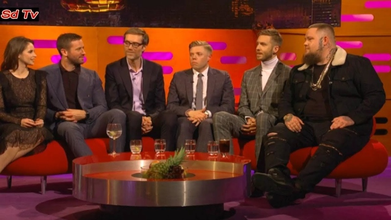 FULL Graham Norton Show 1522019 Felicity Jones, Armie Hammer, Rob Beckett, Stephen Merchant