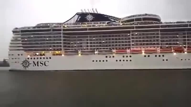 Капитан этого огромного круизного лайнера - фанат группы Queen.