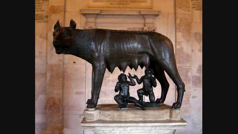 Античная культура: Рим - вечный город. Весь гений нации римляне вложили в строительство... (для школьников 8-9 классов).
