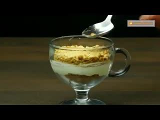 Нежный и воздушный сливочный десерт без выпечки - просто готовится и прекрасно выглядит