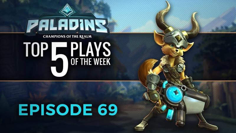 Paladins - Top 5 Plays 69