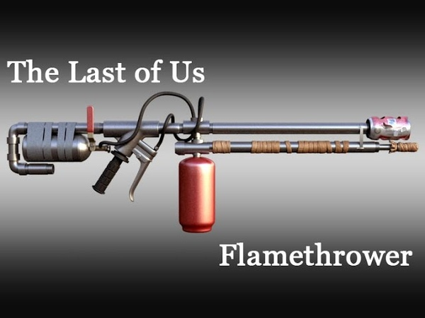The Last of Us Flamethrower - Part 5