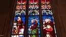 Люксембургский собор Нотр-Дам Св. Богоматери. Витражи. Notre-Dame Cathedral, Luxembourg