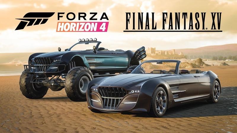 Forza Horizon 4 - Final Fantasy XV Regalia Models