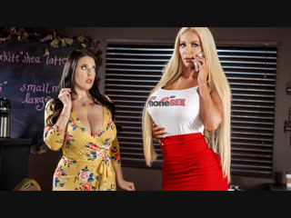 Angela White, Nicolette Shea (Caught Talking Dirty) секс порно