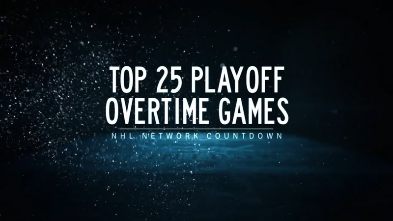 NHL Network Countdown Top Playoff Overtime Games