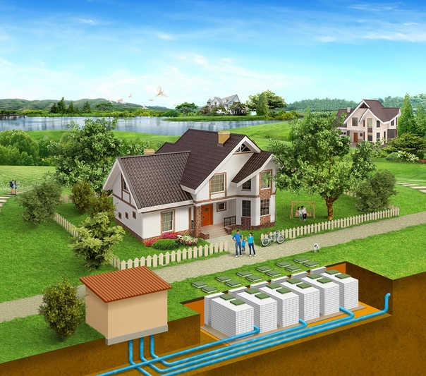 Вы слышали о станциях биологической очистки сточных вод для частных домов и жилых комплексов