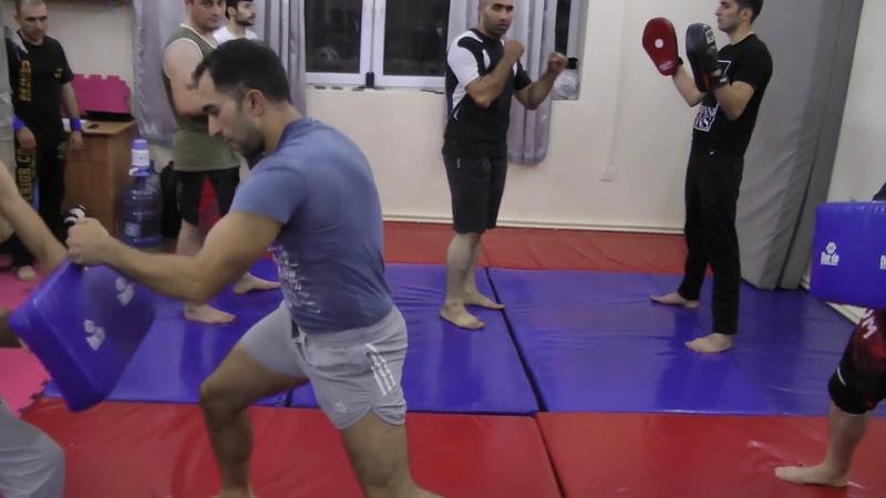 KRAV MAGA STRIKING COMBOS 1 4 by Beginner Practitioners from Azerbaijan