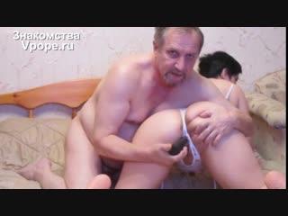 Старая пара сочно трахается в письку (Порно со зрелыми женщинами, mature, MILF, Мамки, XXX, Sex, Porn) 18+