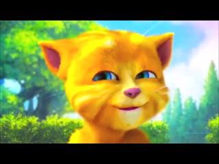 Прикол - смешной и прикольный котенок забавный котик кот кошка - Мультик для детей