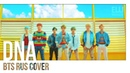 4 people chorus – DNA BTS RUS COVER HBD HaruWei