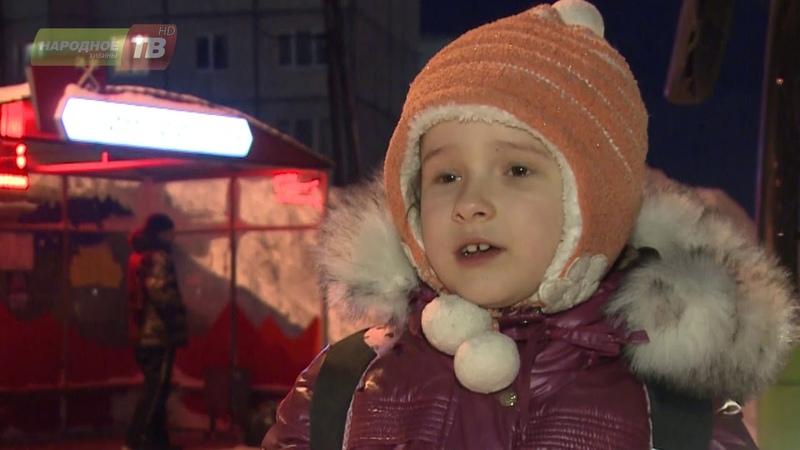 Ребёнка высадили из автобуса на мороз