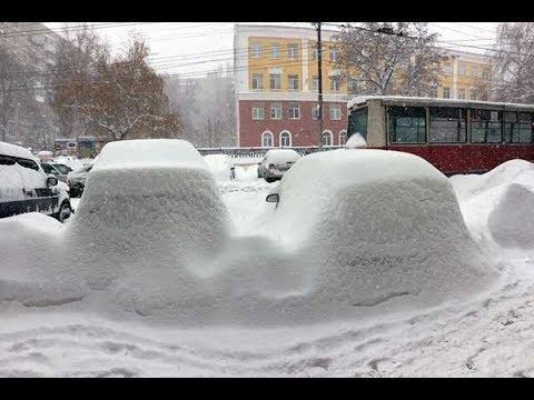 Саратов в ожидании катастрофы или Как убирают снег в регионах ПФО