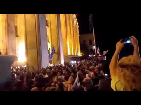 20.06.19. 2330 События в Грузии- бунт