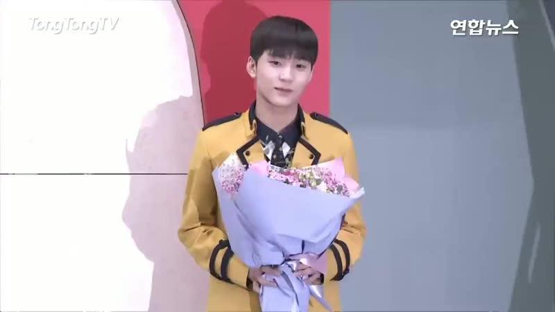 190215 찬영 졸업식 포토월 영상 - 김찬영 찬영 디크런치 짠영이 D_CRUNCH chanyoung