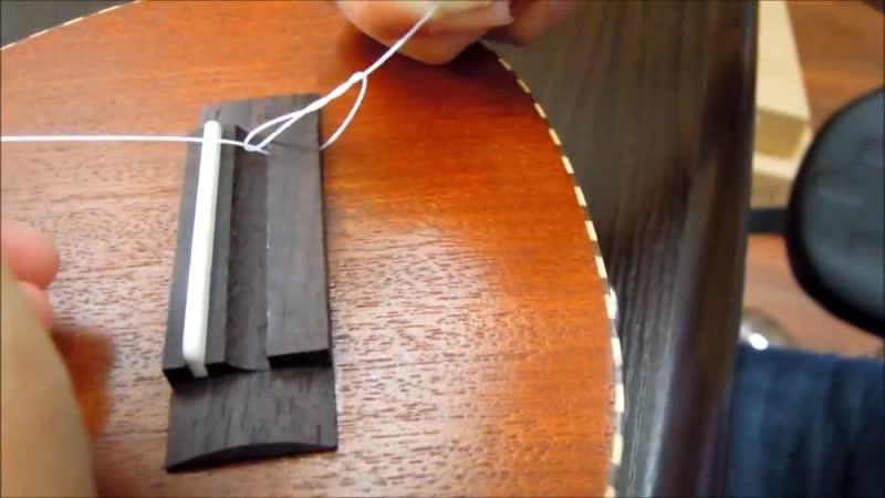 Как заменить струны на укулеле