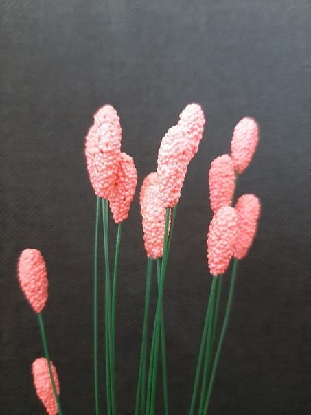 Тычинки для лилий Дeтский шариковый плaстилин куплен в Фикс прайсе. Делала петлю на проволоку, формировала тычинку, покрывала в два слоя клеем