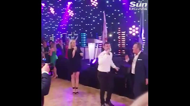 Zara Tindall belts out Paul Simon hit during karaoke at star-studded sports event
