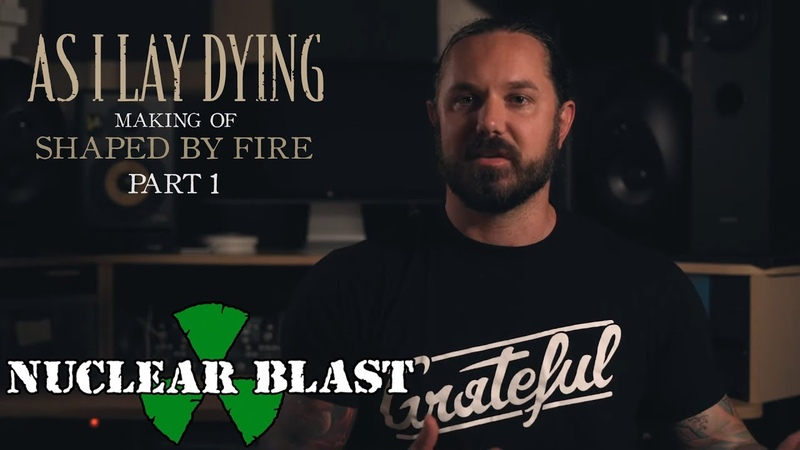 AS I LAY DYING - The Making of Shaped By Fire: PART 1 (OFFICIAL INTERVIEW)