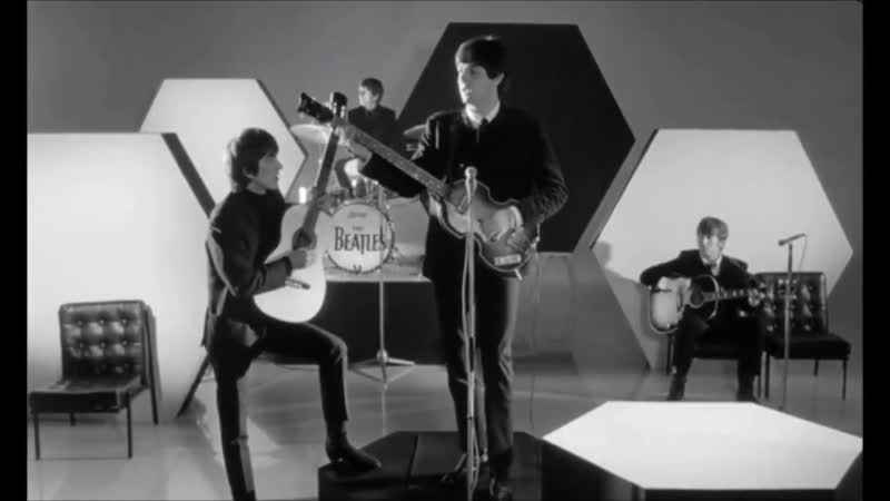 The Beatles And I Love Her Official Music Video