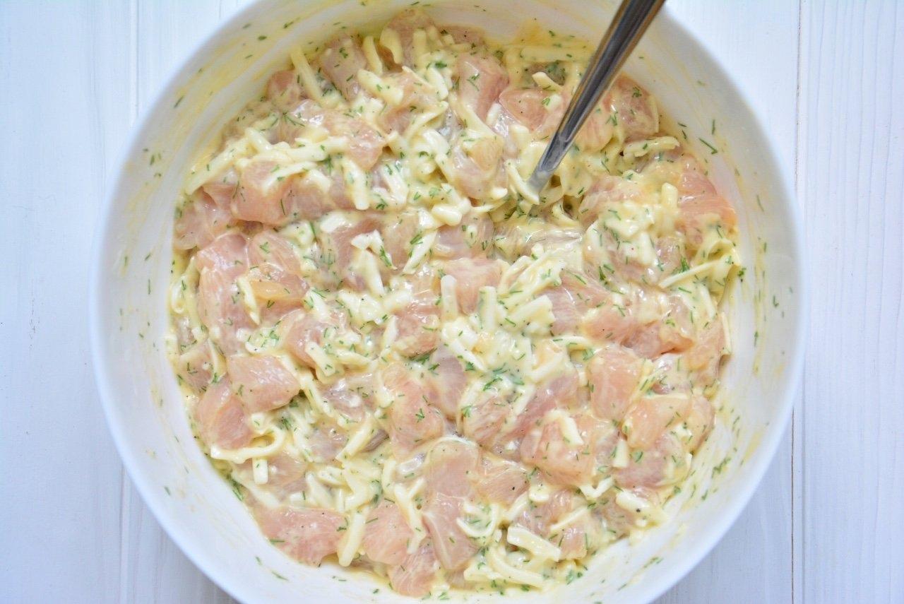 Рубленые куриные котлетки с сыром  Необычный способ...