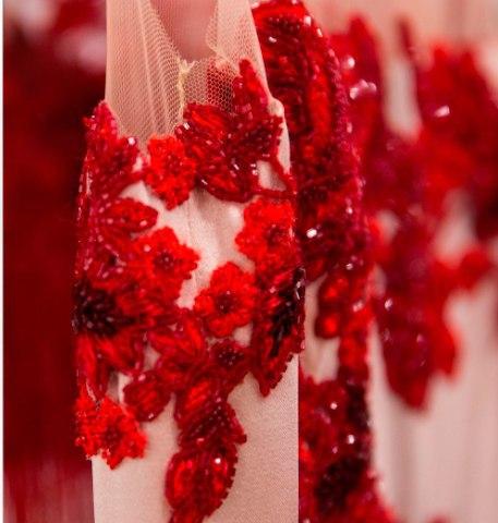 Воплощение идеи платья от Marchesa