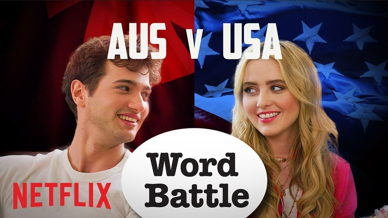 The Society Cast AUS vs. USA Word Battle | Netflix