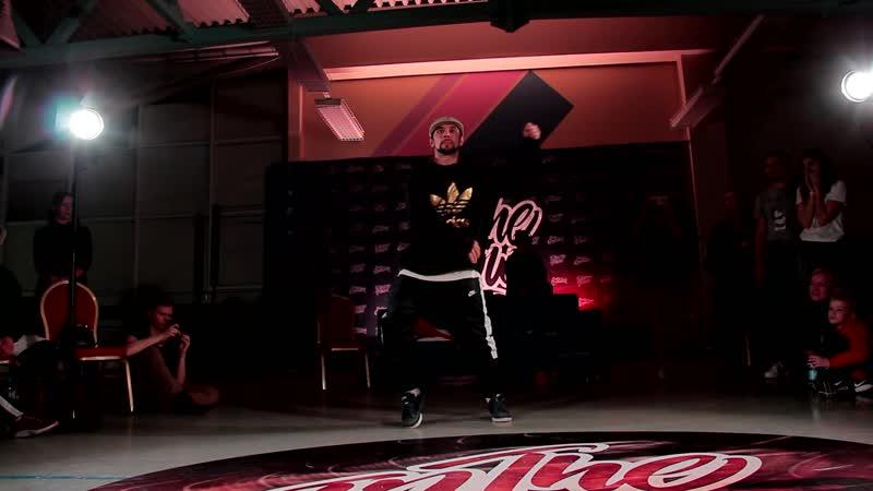 In The Flow Battle vol.3 hip-hop judge showcase Жека Барышев