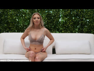 CastingCouch-HD Miley Gymnast Tries Out model casting couch HD blonde busty babe big boobs creampie cumshot