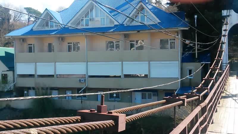 4 чЭкскурсия п Догомыс навесной мост. гостев дом Лотос ул ленинградск и т д.