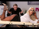 Brazzers Massaged On The Job Nicolette Shea &amp Danny D Dirty Ass Fingering, Doggystyle, Deepthroat, Riding, Rimming, Missionary