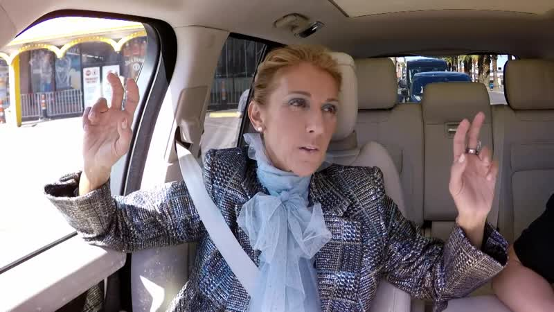 Celine Dion - Carpool Karaoke (The Late Late Show with James Corden)