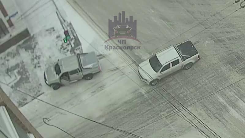 Ленина - Робеспьера 21.11.2019 ЧП Красноярск