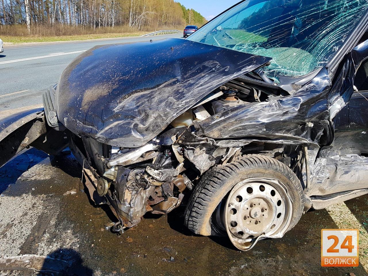 В Марий Эл увеличилась аварийность на дорогах