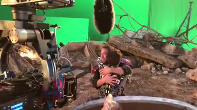 Robert Downey Jr., Tom Holland - Deleted Scene - Avengers Endgame