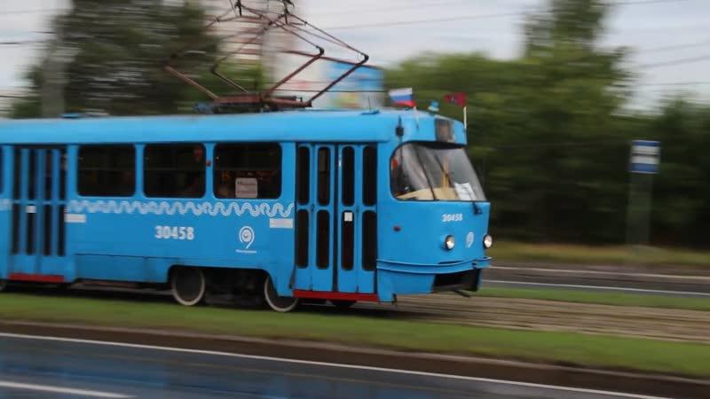 13 07 2019 Москва Строгинский мост МТТЧ Модернизированные Т3 по СМЕ