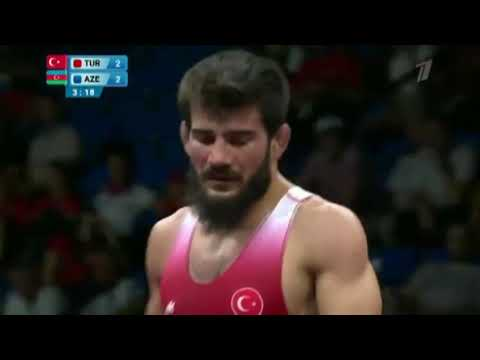 74 кг. Сонер Демирташ (Турция) - Хаджимурад Гаджиев (Азербайджан) Евроигры-2019