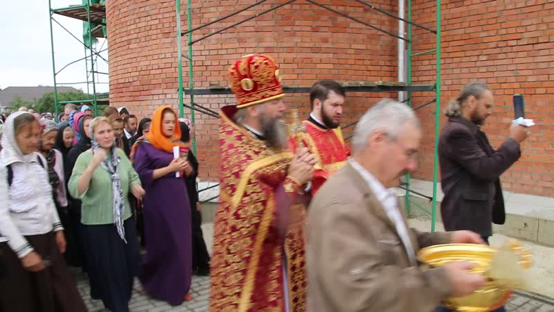 Крестный ход вокруг Царского храма с Дивеево 17 07 2019